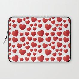 Hearts Pattern Laptop Sleeve