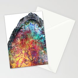 Geode Luster Stationery Cards