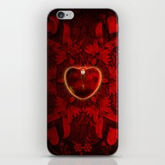 Wonderful heart iPhone & iPod Skin
