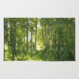 Beautiful Morning Summer Greenery #decor #society6 #buyart Rug