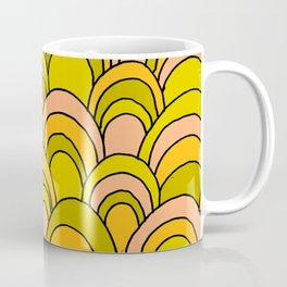 surfboard quiver 70s wallpaper dreams Coffee Mug