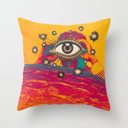 ...TUNE IN... Throw Pillow