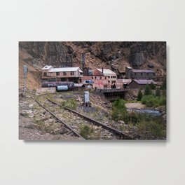Eagle River Mine Metal Print