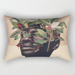 Birds are my Real Origin Reversed Rectangular Pillow