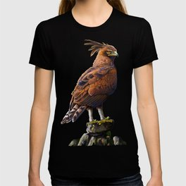 Long Crested Eagle T-shirt