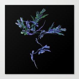 Winter Tree Fractal Canvas Print