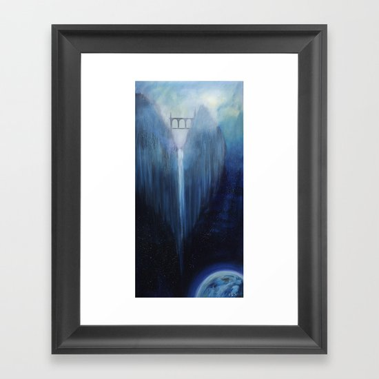 Angel Falls Framed Art Print