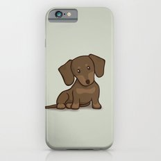 Daschund Puppy Illustration Slim Case iPhone 6