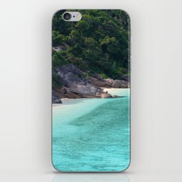 rocky beach iPhone Skin