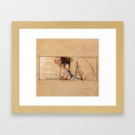 Infiniti Sensi 01 Framed Art Print