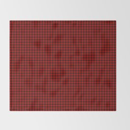 Brodie Tartan Throw Blanket