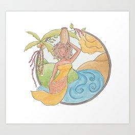Brazilian roots version2 Art Print