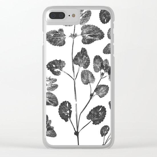 Dead Leaves Clear iPhone Case