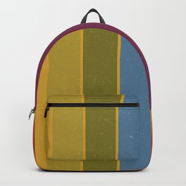 Retro Movie Camera Color Palette Backpack