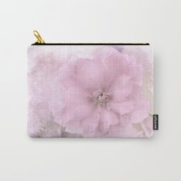 Pink Smoked Floral Carry-All Pouch