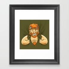 Who wears whom? Framed Art Print