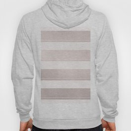 Rose Gold and Wide Pink Stripes Mix Pattern Hoody