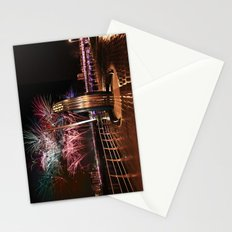 Fireworks at Swansea SA1 Stationery Cards