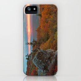 Autumn Dolly Sods Sunrise iPhone Case