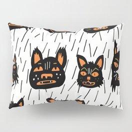 Black Cats Pillow Sham