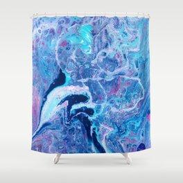 HELTER SKELTER Shower Curtain