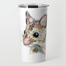 Little Brown Mouse Travel Mug