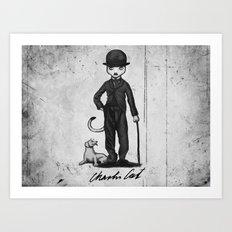 Charlie Cat Art Print