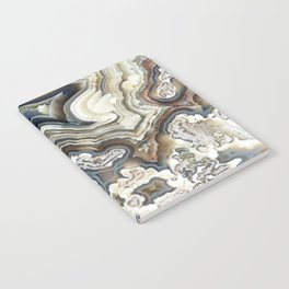 Blue Agate Notebook