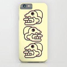 Monkey Skull - Aztec Glyph Slim Case iPhone 6s