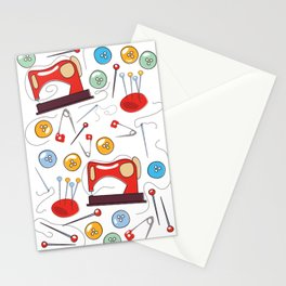 Sewing Pattern Stationery Cards