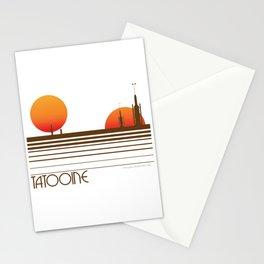 Visit Tatooine Stationery Cards