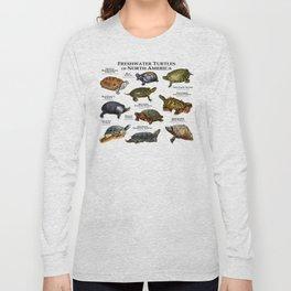 Freshwater Turtles of North America Long Sleeve T-shirt
