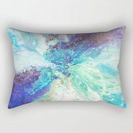 Falling Polish Rectangular Pillow