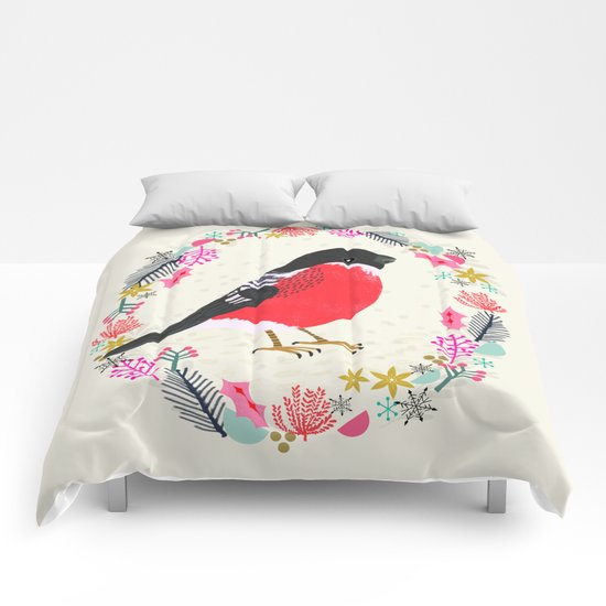 Bullfinch by Andrea Lauren  Comforters