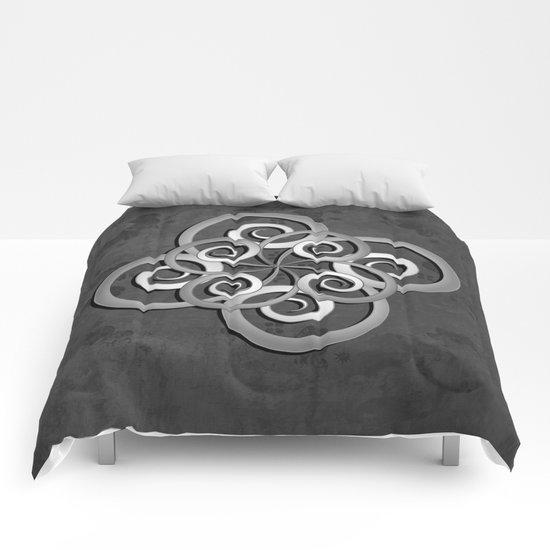 Beautiful Celtic style design Comforters