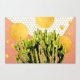 Cactus Dream #society6 #decor #buyart Canvas Print