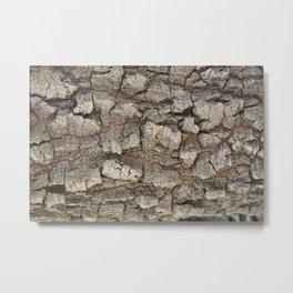 Bark 3D Metal Print