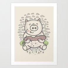 Bacon's Sandwich Art Print