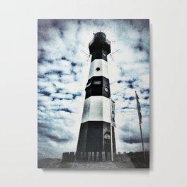 LIGHTHOUSE Nieuwe Sluis - Breskens Metal Print