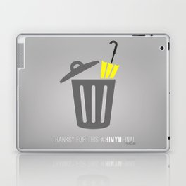 Thanks for this HIMYMfinal Laptop & iPad Skin