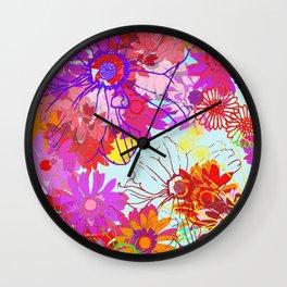 Spring Sunshine Wall Clock