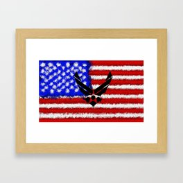 This We'll Defend - Air Force Framed Art Print