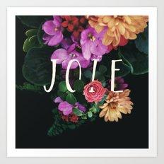 Joie Art Print