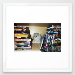 MOVIE NIGHT Framed Art Print