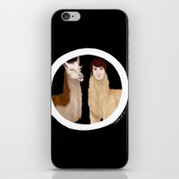 danisnotonfire iPhone & iPod Skins featuring Danisnotonfire Llama by Khrow