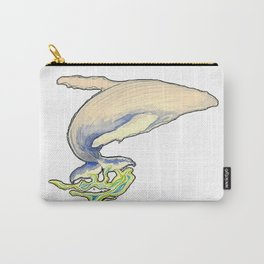 Humpback whale jump Carry-All Pouch