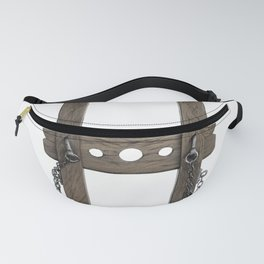 The Pillary Torture Humiliation Pillory Physical Abuse Strand Fanny Pack