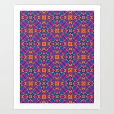 Moroccan tile Art Print