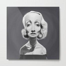 Marlene Dietrich Metal Print
