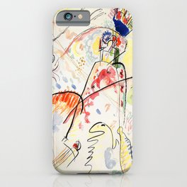 Wassily Kandinsky Small Pleasures iPhone Case